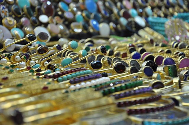 Istanbul Grand Bazaar jewellery