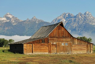 Grand Teton NP ~ Moulton Barn