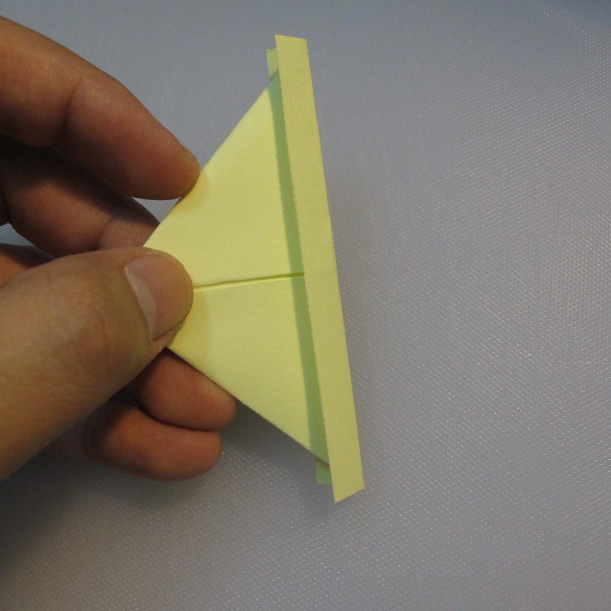 การพับกระดาษเป็นรูปเรือใบ (Origami Boat – 船の折り紙) 004
