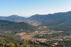 View from Peyrepertuse
