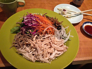 My Favorite Lunch in NYC:  Chicken Soba Salad at Soba Nippon!