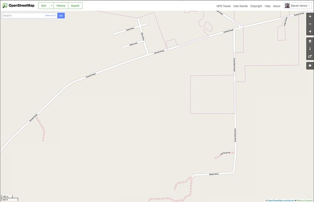 Mapping a campground that doesn't exist: a before and after view of OpenStreetMap