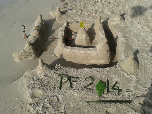 and so castles made of sand...