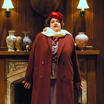 The Mousetrap - Pictured: Kathleen M. Brady (Mrs. Boyle) Photo: P. Switzer Photography 2014