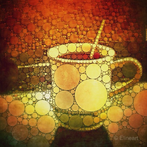 Cup of coffee by elineart