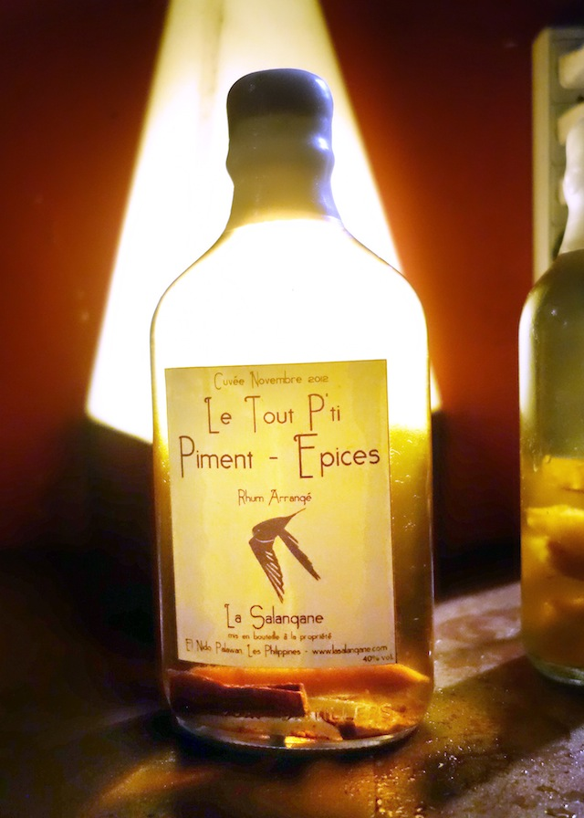 La Salangane bar El Nido Palawan epices rum
