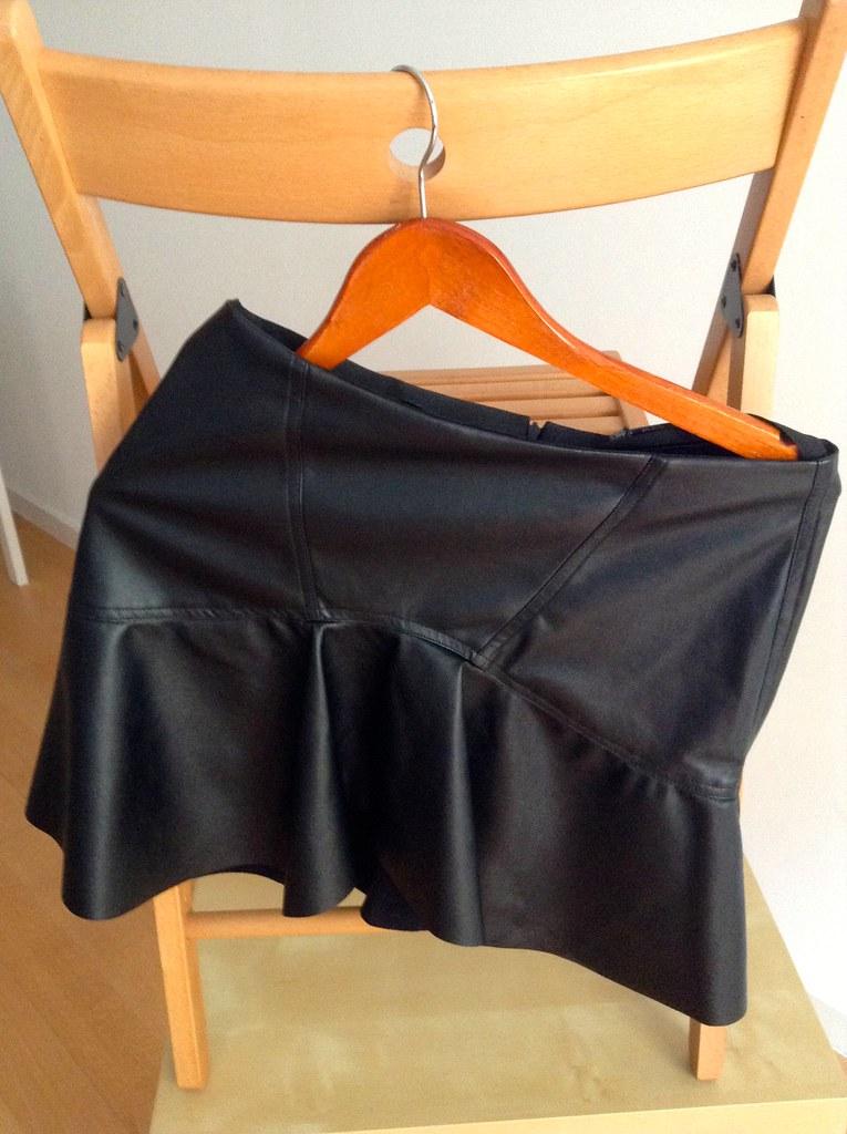 Zara 2014 Spring Summer Collection - Black Skirt