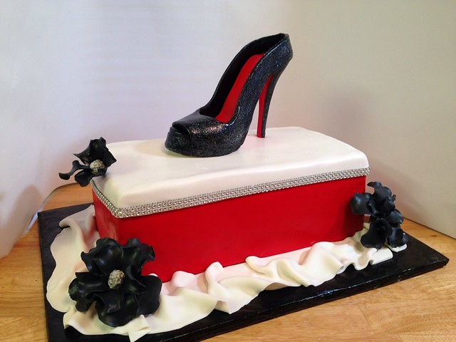 Designer Shoe Cake Topper