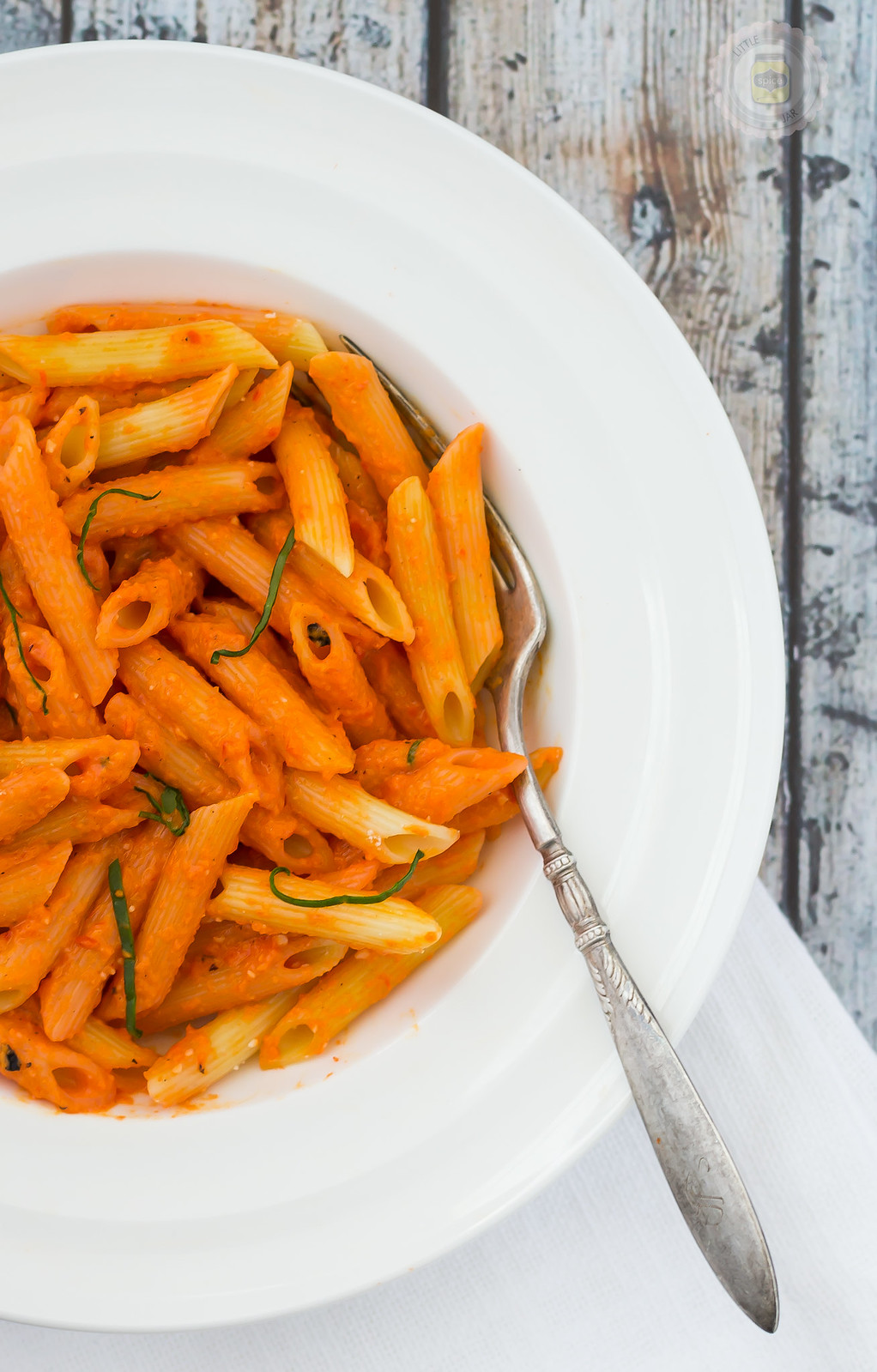 PENNE ALLA ROASTED RED PEPPER SAUCE