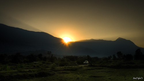 sunset india landscape village tamilnadu coimbatore westernghats sadivayal