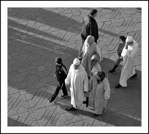 moslims op straat by hans van egdom