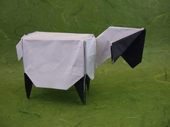 Schachtel-Schaf (Boxy Sheep)