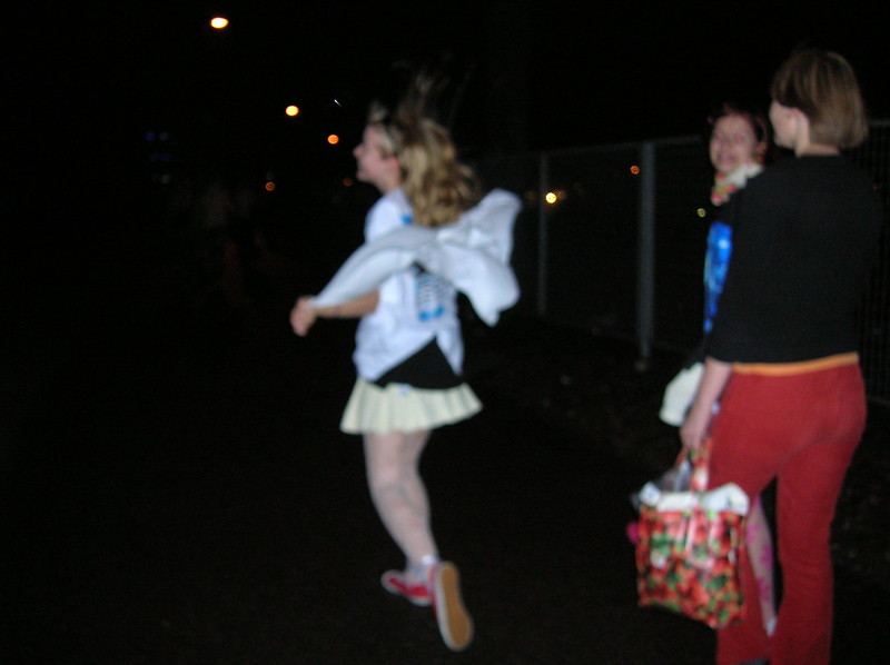 Kirsi juoksee