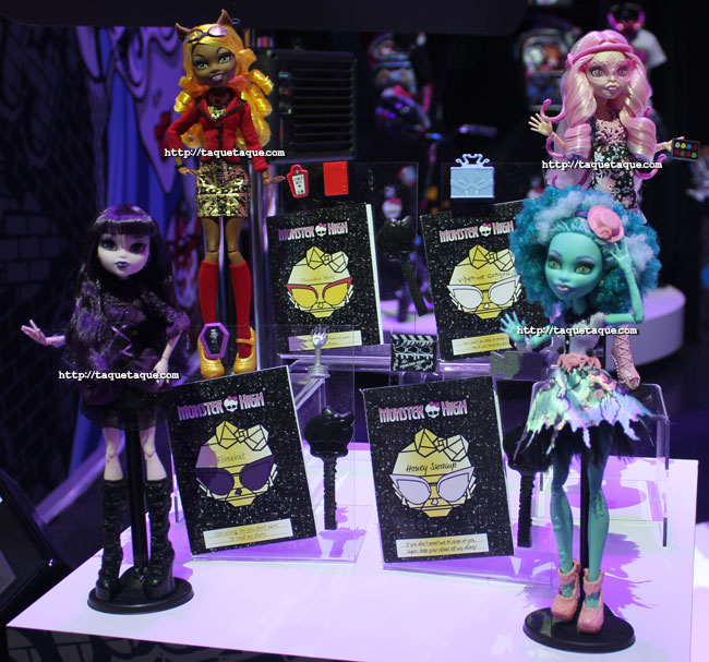 NY Toy Fair 2014 - Honey Swamp, Elisabat, Clawdia Wolf y Viperine Gorgon