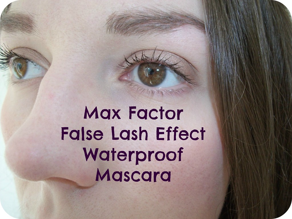Max Factor Mascara Swatch