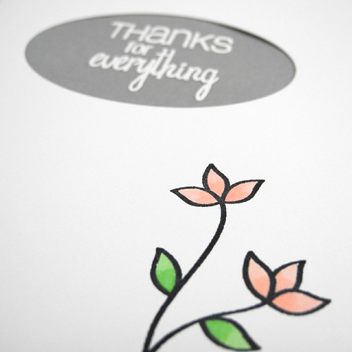 Thanks for Everything (detail)