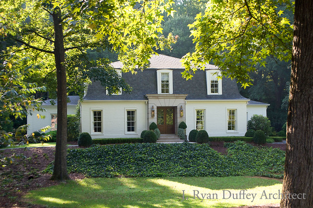 This Lovely House Was Renovated By Atlanta Architect J. Ryan Duffey. The  Homeowner Is A Reader Of Things That Inspire And Had Asked For Advice On  Paint ...