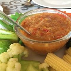 น้ำพริกเนื้อปู