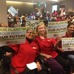 Nurses Stand to Chevron with Richmond, C Residents