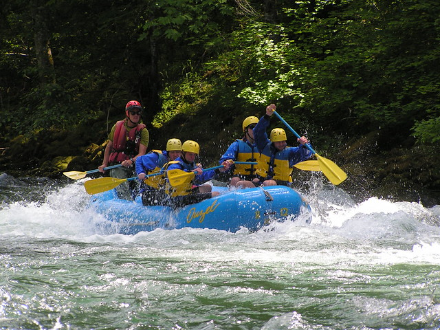 North Umpqua River Rafting Trips