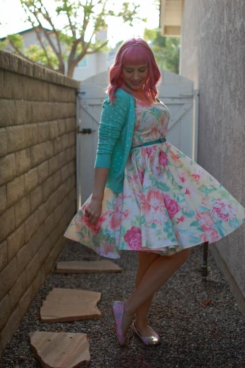 vintage floral dress 10