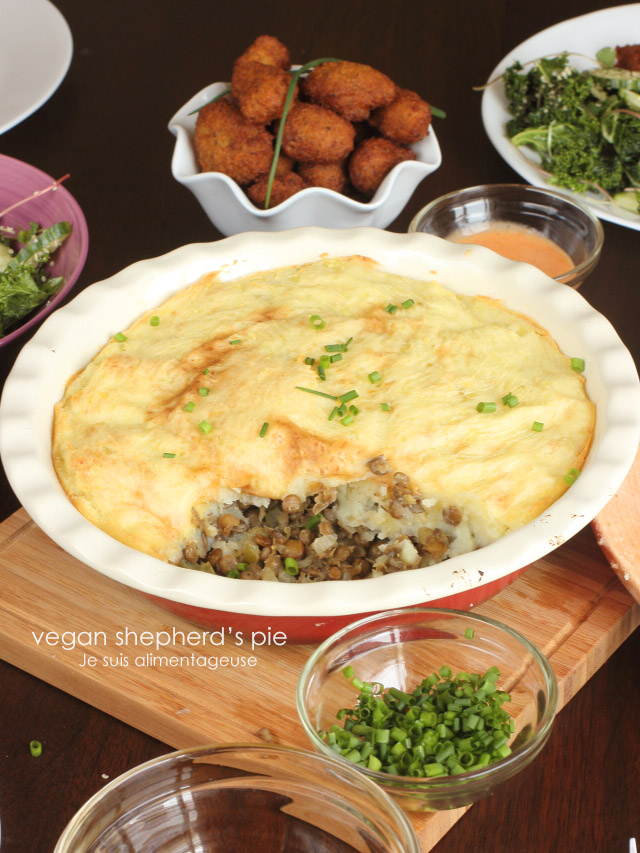 Vegan Shepherd's Pie - Classic Comfort Food that's great for potlucks or parties!