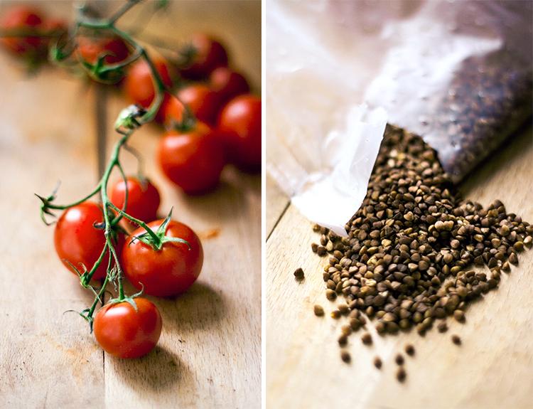 Tomatoes, Buckwheat