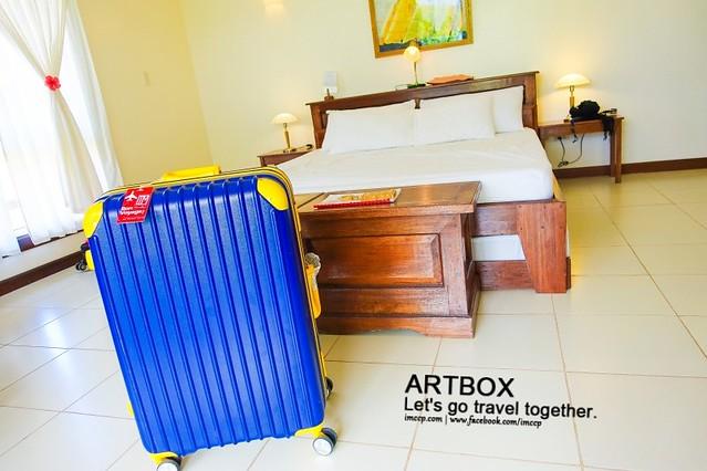 ARTBOX行李箱 行李打包