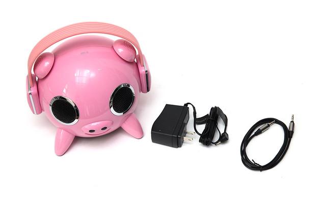 最可愛『豬』喇叭!FONESTUFF 瘋金剛 F1-PIG 2.1 聲道藍牙喇叭開箱分享 @3C 達人廖阿輝