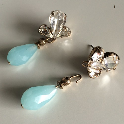 Make do and mend: Anita Glass Teardrop Earring repair