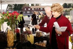 Snack station at Hopelink's Shoreline Grand Opening Event