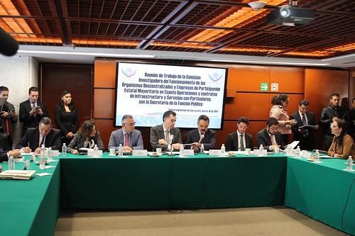 Comisión de Investigación del Funcionamiento de los Organismos Descentralizados y Empresas de Participación Estatal Mayoritaria 16/mar/17
