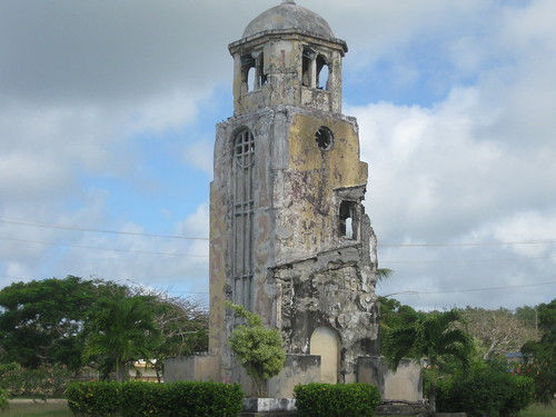 tinian mariana islands sanjose church bell tower kummerle