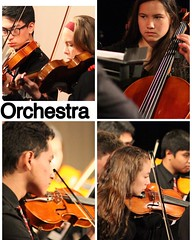 The orchestra just performed at the SCSBOA Festival at West Ranch. #orchestra @alemany4music