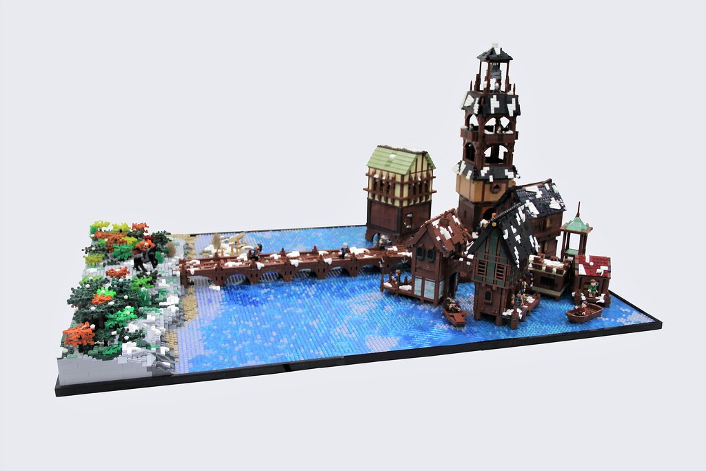 Laketown: A Collaborative Project (custom built Lego model)
