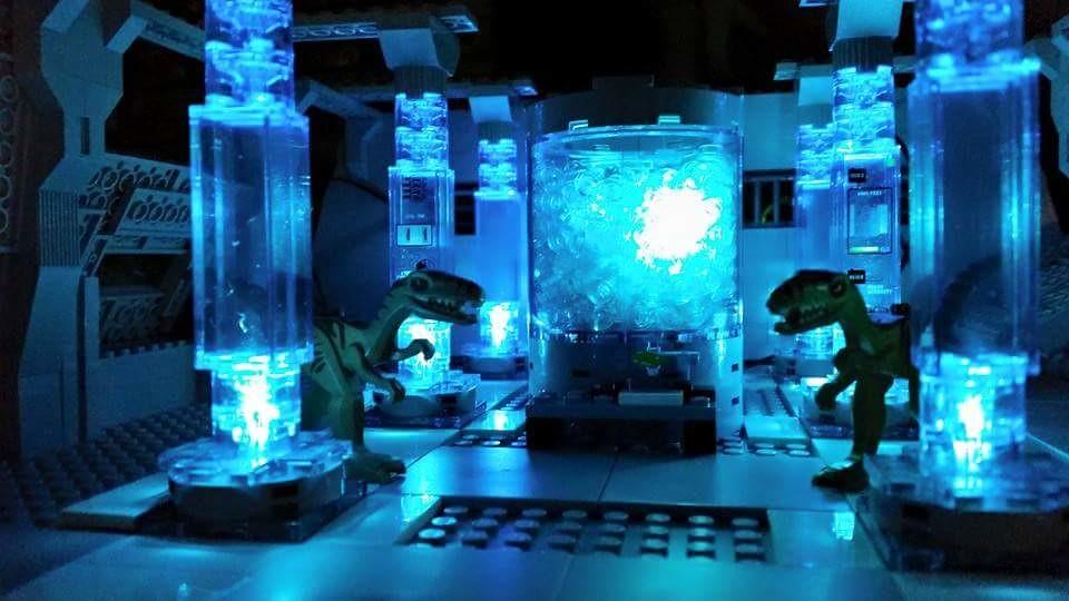 Jurassic (custom built Lego model)