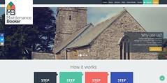 MaintenanceBooker website