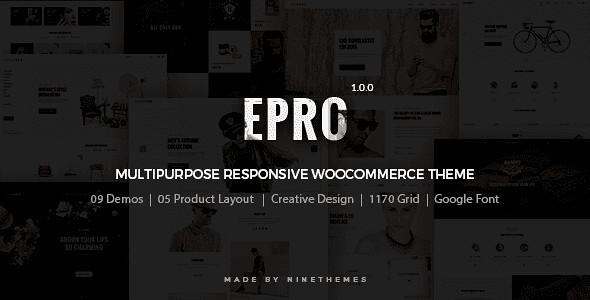 ePro WordPress Theme free download
