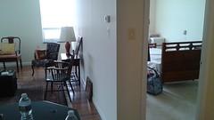 Day 1: Living room & Bedroom