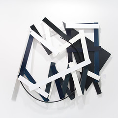 """Mixed Media Sculpture by Imi Knoebel: Cut-up 9, 2011 (Acrylic and aluminium)"" / Galerie Hans Mayer / Art Basel Hong Kong 2013 / SML.20130523.6D.13870.SQ"
