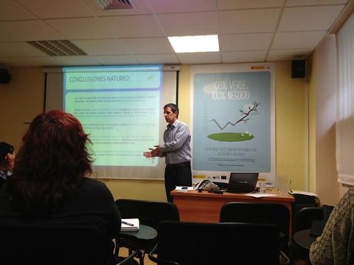 Roberto Ruiz Robles en los Encuentros emprendeverde