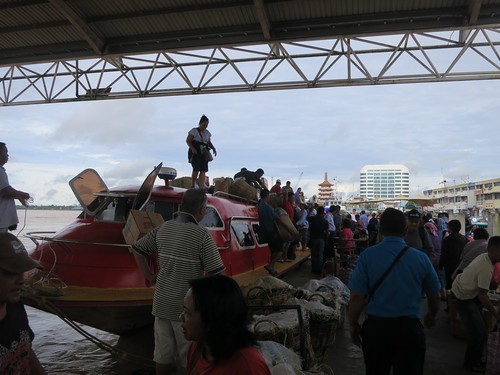 Express Boat Along Rejang River