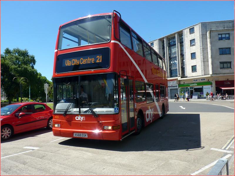 Plymouth Citybus 435 X568EGK