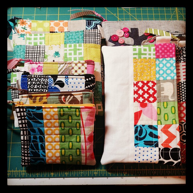 finished pouches