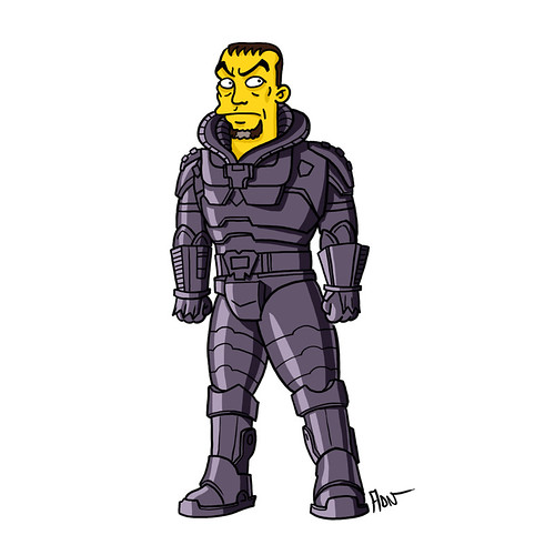 Zod / Simpsonized
