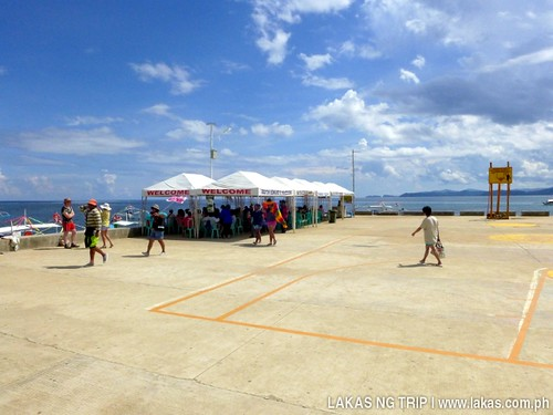Sabang Wharf when we were registering at the Tourism Office