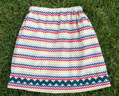 Fourth of July Skirt for The Middle
