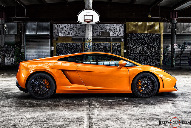 Lamborghini Gallardo LP 550-2 Bicolore - Side Bleach