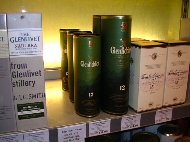 Waitrose shopping trip - Glenfiddich