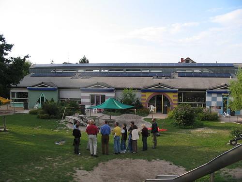 PV Anlage auf dem Kindergarten Villa Kunterbunt